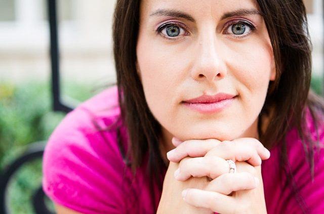 Portrait Olivia Moore - Humoriste