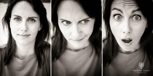 Portraits Olivia Moore, humoriste