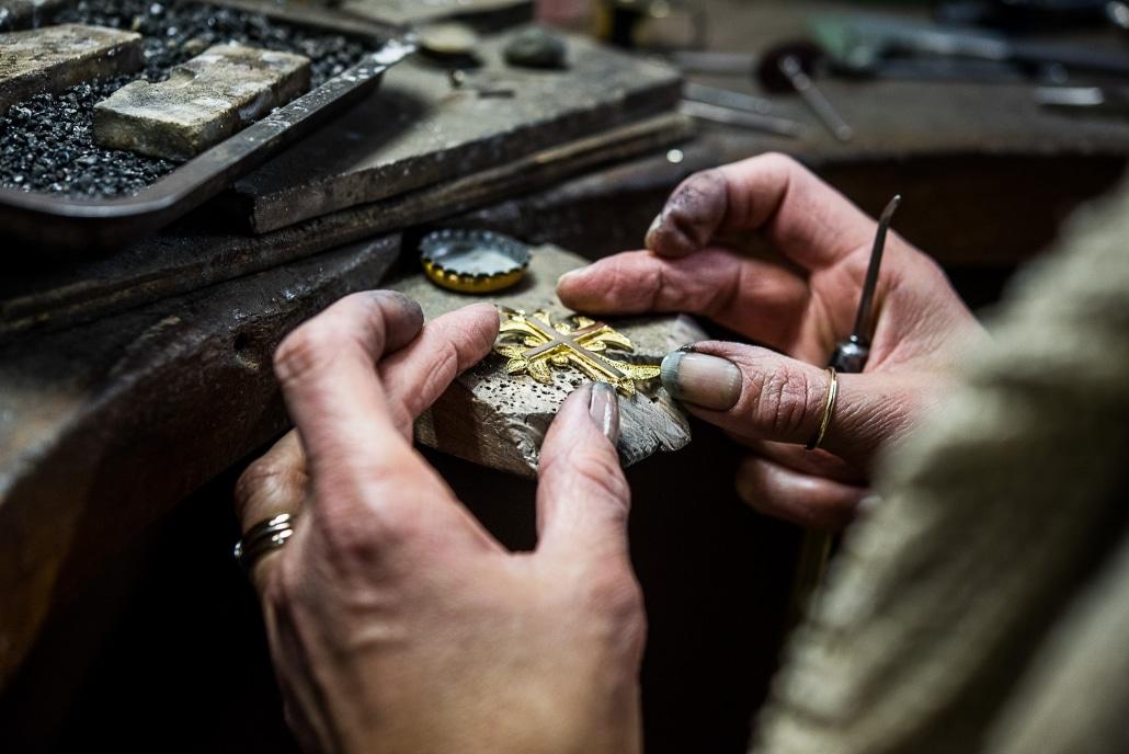 Reportage photos artisanat - Bijouterie Bizouard